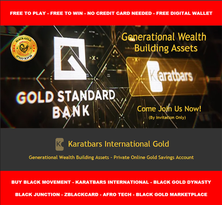 What Is Buy Black Movement?, What Is Black Gold Dynasty?, What Is ZBlackCard?